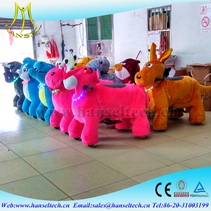Hansel non coin operated animal rides