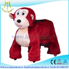 Hansel stuffed animal ride electronic toys ride with coin