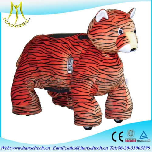 Hansel animal ride for mall plush animal electric with coin operated