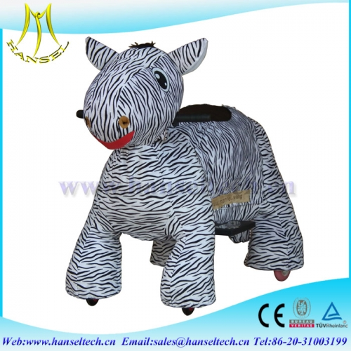 Hansel mall ride on battery operated animal low investment business