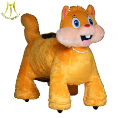 Hansel battery operated animals from china motorized animals for children and adults electric ride